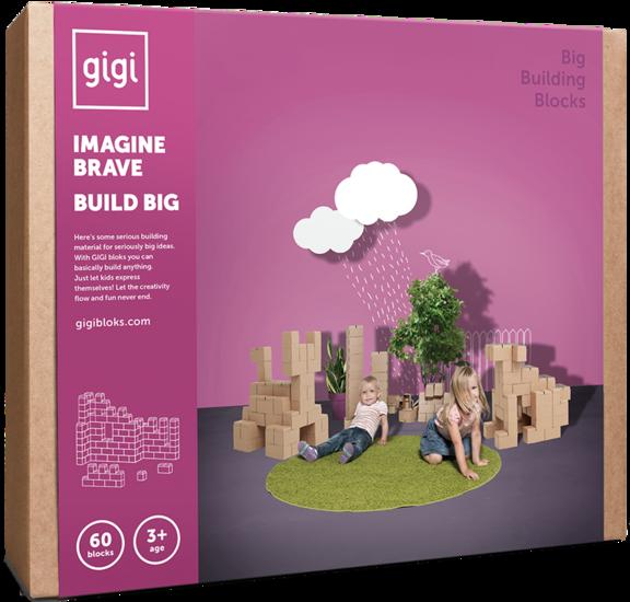 GiGi Blokken Giant (60 blokken)