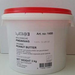 Pindakaas  Grootverpakking 3 kilo (biologisch)