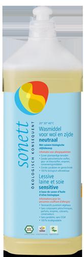 Sonett Wasmiddel Wol & Zijde Sensitief 1 liter