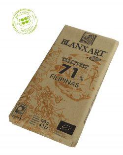 Blanxart chocoladereep 71% Cacao Filipijnen