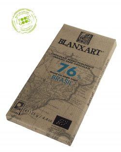 Blanxart chocoladereep 76% Cacao Brazilië