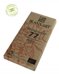 Blanxart chocoladereep 77% Cacao Peru