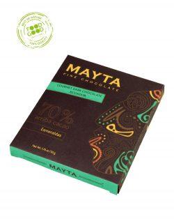 Mayta chocoladereep 70% Cacao Esmeraldes