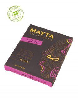 Mayta chocoladereep 55% met zout