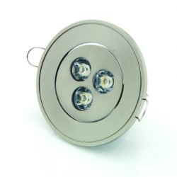 Ronde inbouwspot LED 3W - 6500K wit licht