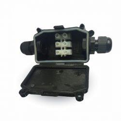 Waterproof Box IP65 verlengen van elektra draad inclusief aansluit kroonsteen