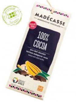 Madecasse chocoladereep 100% Cacao
