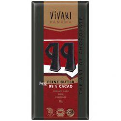 Zwarte Chocolade 99% (biologisch)