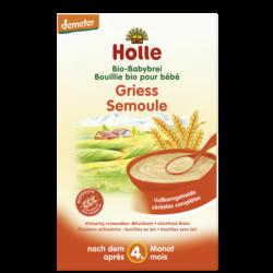 Holle Griesmeelpap voor je Baby v.a. 4 maanden (biologisch)