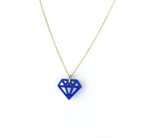 Necklace Diamond Blue | ALL THINGS WE LIKE