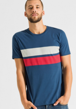 T-shirt James Two Stripes | ARMEDANGELS