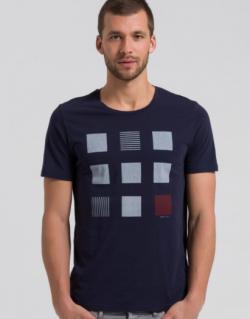 Shirt Dean Cubes | ARMEDANGELS
