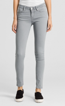 Tilly Slim Fit Skinny Light Grey | ARMEDANGELS