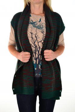 Vest Wrap Cardigan | STUDIO JUX