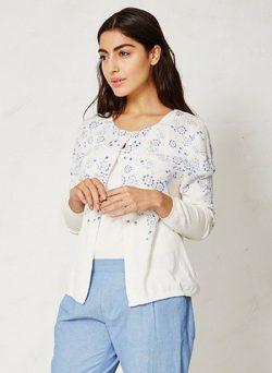 Hanami Oganic Cotton Cardigan | BRAINTREE
