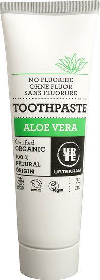 Tandpasta zonder Fluor Aloe Vera (Urtekram) 75 ml