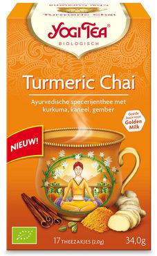 Yogi Tea Turmeric Chai (biologisch)