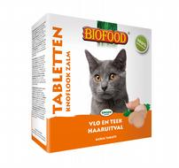 Biofood Anti-vlo tabletten Zalm 100 st. kat
