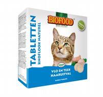 Biofood Anti-vlo tabletten Naturel kat