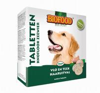 Biofood Anti-vlo tabletten Zeewier hond