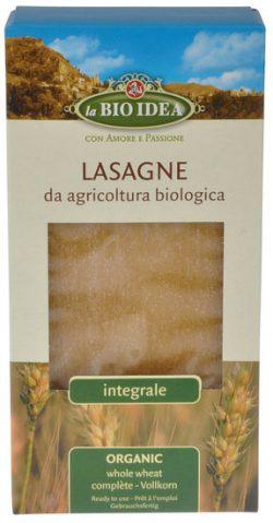 Volkoren Lasagne 250 gram biologisch)