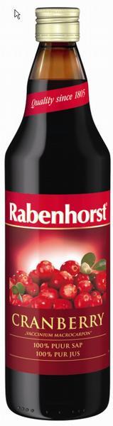 Rabenhorst cranberrysap