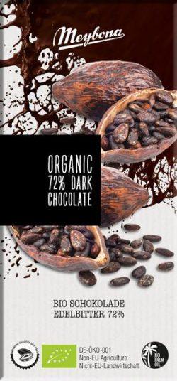 Meybona chocolade dark 72%  Bio 100gr