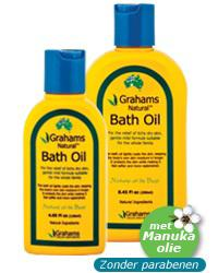 GRAHAMS BATH OIL