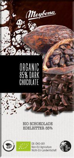 Meybona chocolade dark 85% bio 100gr