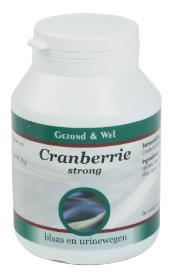 G&W CRANBERRY STRONG 180 TAB