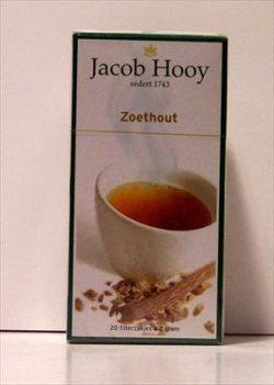 HOOY ZOETHOUT THEEZAKJES