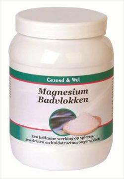 G&W Magnesium ( voet) badvlokken