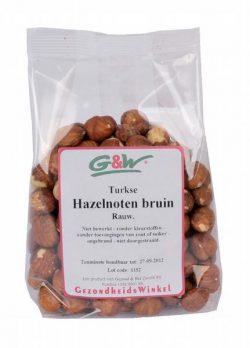 G&W Hazelnoten bruin 400g