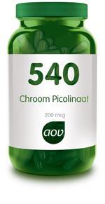 AOV Chroom Picolinaat 540