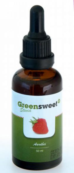 Greensweet Aardbei concentraat 50ml