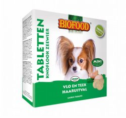 Biofood Anti-vlo tabletten Zeewier hond (mini)