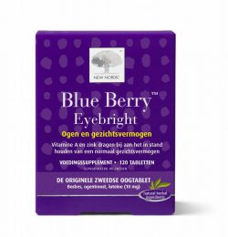NEW NORDIC BLUE BERRY EYEBRIGHT 120TB