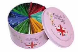 English Tea Shop Rond Cadeaublik Union Jack