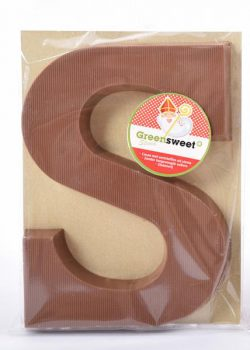 Greensweet Chocolade letter melk 140gr