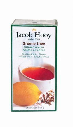 JACOB HOOY GROENE THEE+LEMON ZAKJES