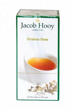 JACOB HOOY GROENE THEE ZAKJES