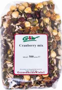 G&W CRANBERRY MIX 500GR