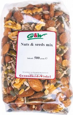 G&W NOTEN EN ZADENMIX 500GR