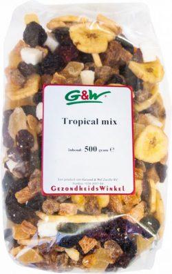 G&W Tropische vruchtenmix 500gr