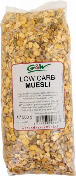 G&W Low Carb Muesli 500gr