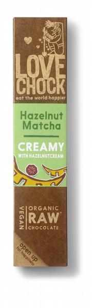Lovechock Creamy Hazelnut Matcha