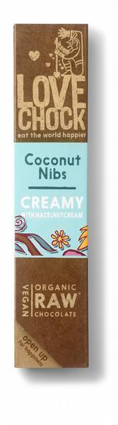 Lovechock Creamy Coconut Nibs