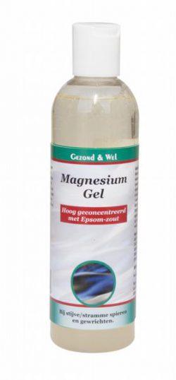 G&W Magnesium Gel met Epsom zout 250ml