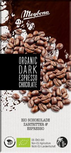 Meybona chocolade dark espreso Bio 100gr