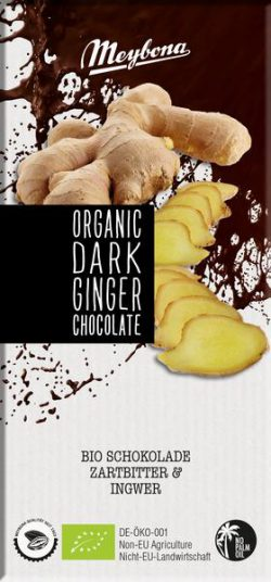 Meybona chocolade gember Bio 100gr